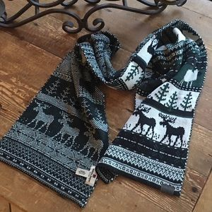 Woolrich Knit Classic Reversible Scarf